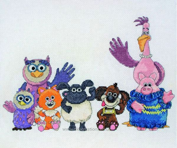 Timmy Time  My Family Cross Stitch Kit